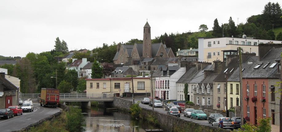 Donegal cityscape.
