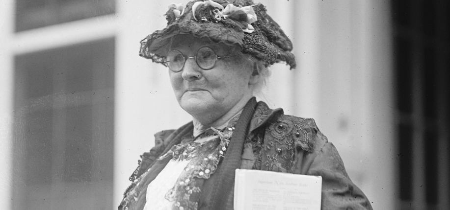 Mother Jones at the White House, September 26, 1924. (Photo: Library of Congress)