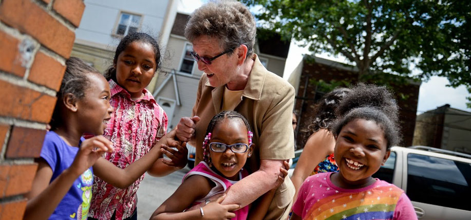 Sister Tesa Fitzgerald is the founder and director of Hour Children.