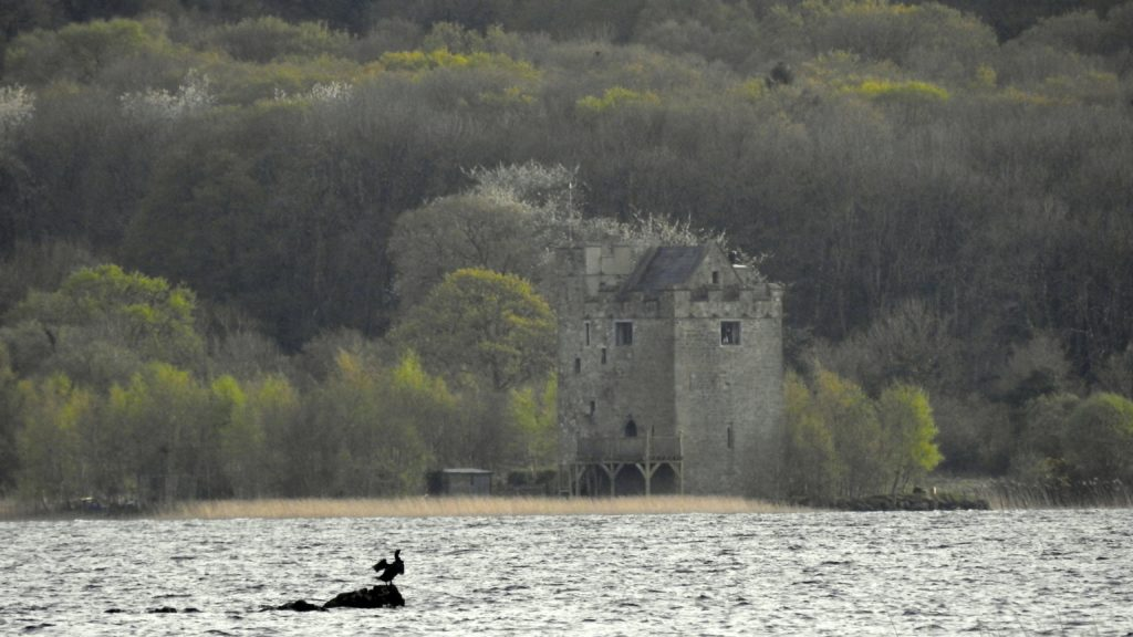 Castlebawn is a beautifully restored Tower House on a tiny island below Ogonnelloe, on Lough Derg. This exclusive but easily affordable getaway is available to rent on Airbnb.