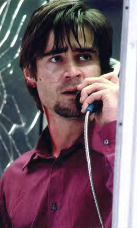 <em>Colin Farrell in Phone Booth.</em>