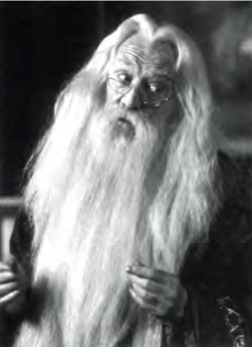 <em>Irish actor Richard Harris in Harry Potter and the Sorcerer's Stone</em>