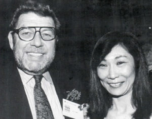 Hamill and his wife Fukiko Aoki.