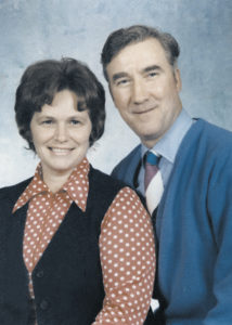 Michael McFadden and his wife Mary.