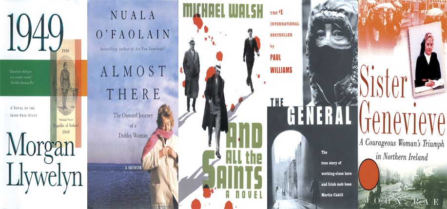 A sampling of the latest Irish books.