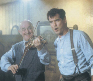 Brosnan in character as Desmond Doyle in the movie Evelyn.