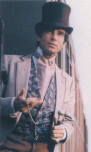 Brosnan in character as Rory O'Manion in The Manions of America.