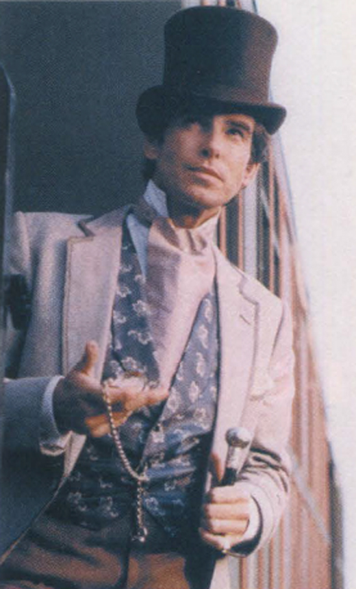 <em>Brosnan in character as Rory O'Manion in </em>The Manions of America.