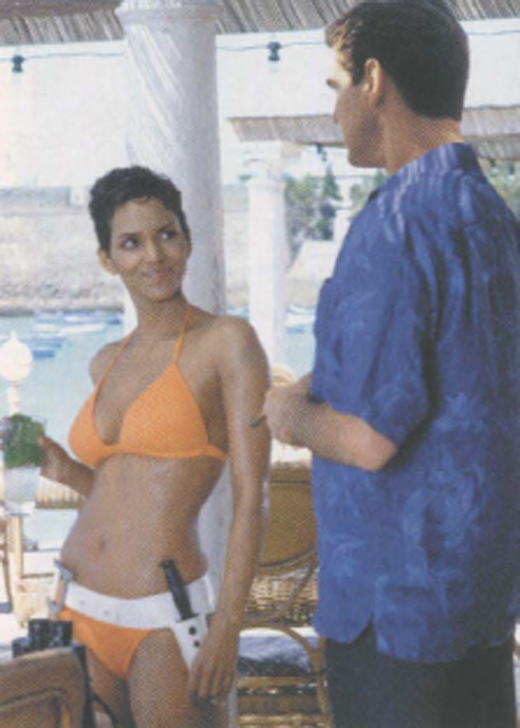 <em>Brosnan's Bond adventures with Halle Berry.</em>
