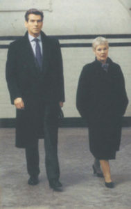 Brosnan's Bond adventures with Dame Judi Dench.
