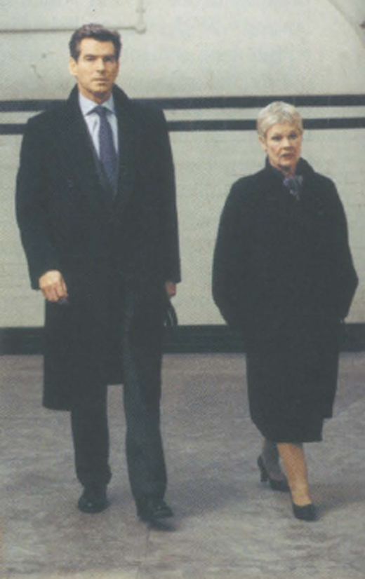 <em>Brosnan's Bond adventures with Dame Judi Dench.</em>