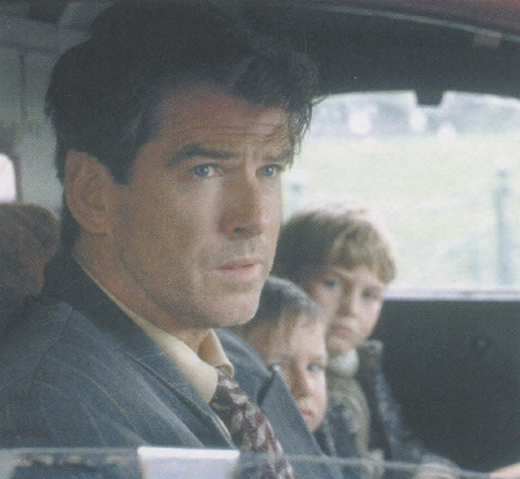 <em>Brosnan in a scene from </em>Evelyn.