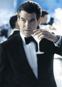 Shaken not stirred for the Irish 007.