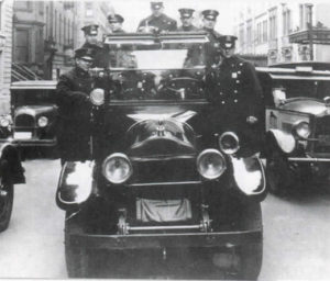 New York City patrol car from the 1920s.