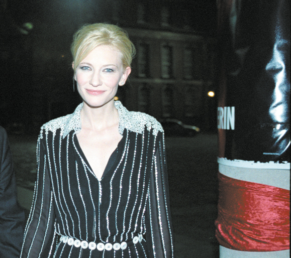 <em>Blanchett in Dublin at the premiere.</em>