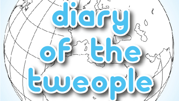 The cover of The Diary of the Tweople