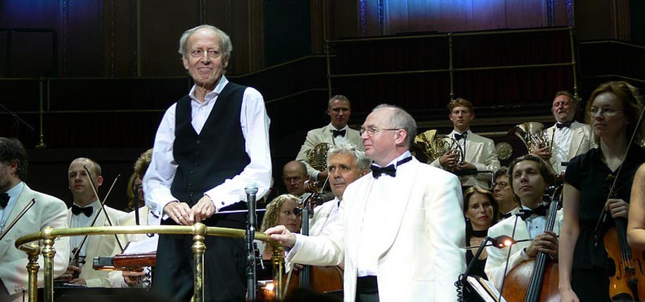 Composer John Barry