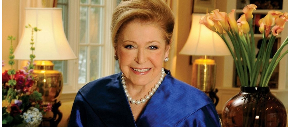 2011 Grand Marshal of the NYC St. Patrick's Day Parade Mary Higgins Clark