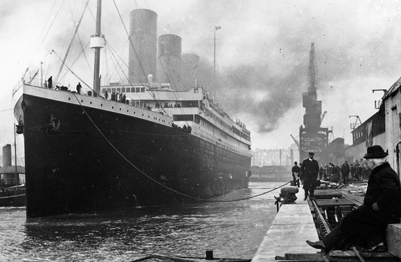 The RMS Titanic. Photo from Wikimedia Commons.