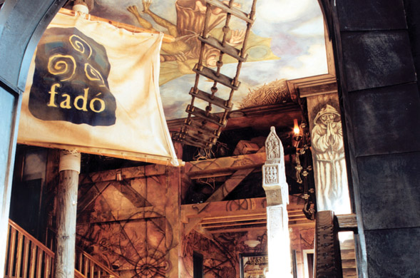 Fado Pub in Chicago, one of the Irish Pub Company's brands.