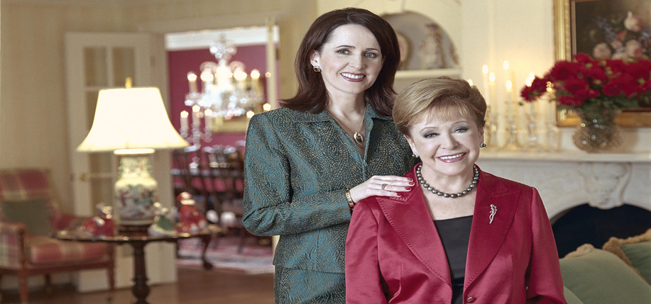 Carol Higgins Clark and her mother Mary Higgins Clark