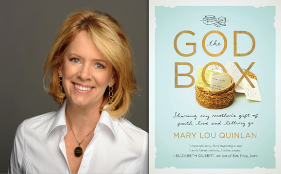 Mary Lou Quinlan and her latest book, The God Box.