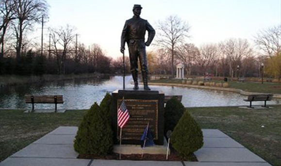 The Michael Dougherty memorial in Bristol, PA. Photo: Google Images.