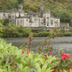 The Kylemore Abbey.