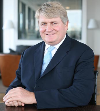 Denis O'Brien, founder and chairman of Digicel Group and Irish America Business 100 honoree.