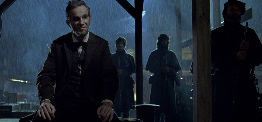 Daniel Day-Lewis as 16th President Abraham Lincoln in Steven Spielberg's Lincoln. Courtesy of DreamWorks Pictures.