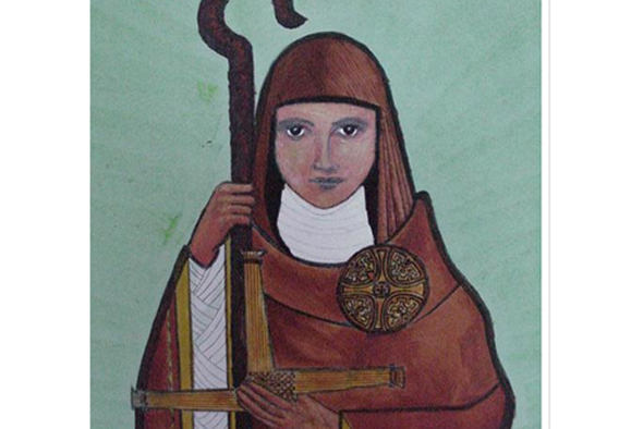 Ireland's St. Brigid. Photo: Google Images