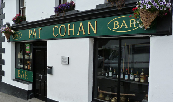 Pat Cohan's in Cong, Co. Mayo. Photo: Google Images