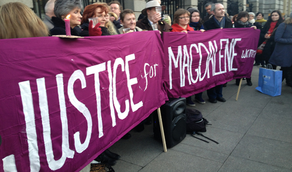 A rally by the advocacy group Justice for Magdalenes. Photo: Google Images.