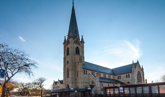 St. James Church on Chicago's South Side.