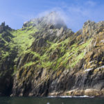 Mist atop Skellig Michael, County Kerry, Ireland Photo: Chris Ryan.