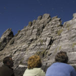 Tourists watching gannet birds on Little Skellig. Photo: Chris Ryan.