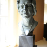 Bust of Mary Lavin by Helen Hooker O'Malley. Photo: NYU Photo Bureau - Dan Creighton.