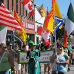 Canada's Irish Fest parade, Miramichi. Photo: John Kernaghan.