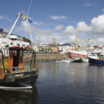 Killybegs, a natural harbor with a long tradition of fishing. Courtesy of Tourism Ireland.