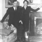Mary Lavin and William Walsh at Becvite House. Courtesy of the Ryan family.