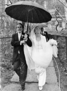 Judy and Loius Nelson on their wedding day.