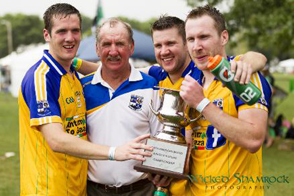 Cusacks win over Twin Cities in the Junior B hurling. Photo: Wicked Shamrock Photography.