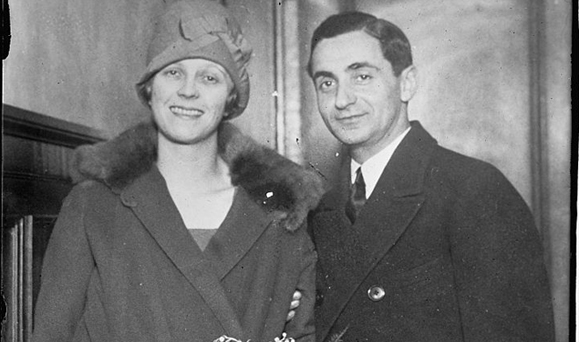 Ellin Mackay and Irving Berlin. Photo: Library of Congress