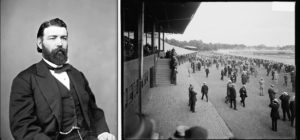 John Morrisey and the Saratoga Springs Race Course in the early 1900s. Photos: Library of Congress.