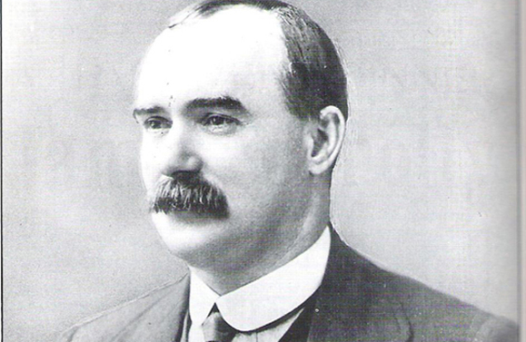 James Connolly (1868-1916), Irish republican and socialist leader.