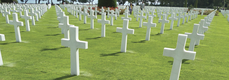 The American Cemetery at Colleville-sur-Mer, just above Omaha Beach. Photos by John Fay.