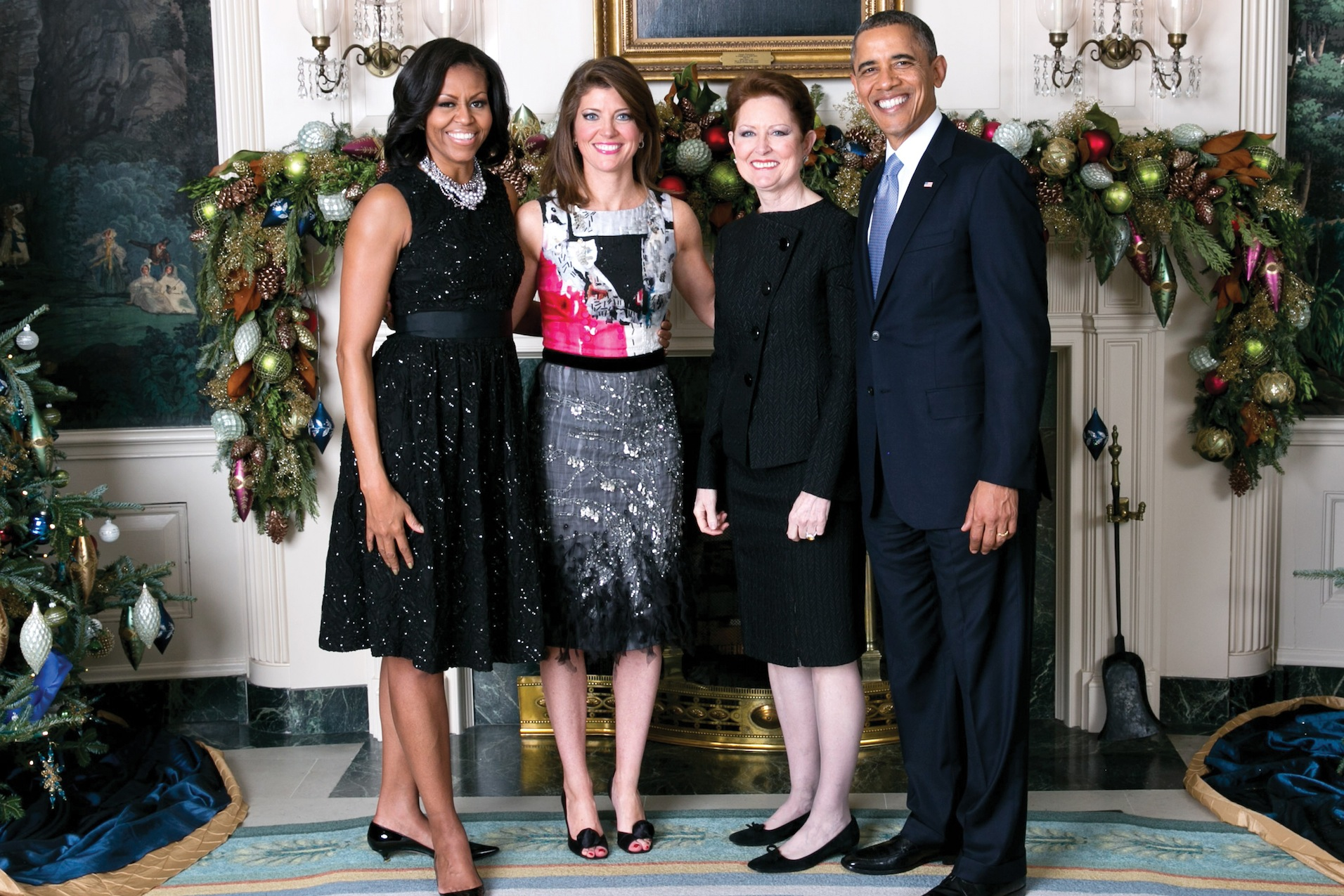 Norah and her mother with President Obama and the First Lady | Irish ...