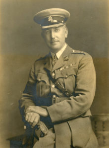 Major William Egan, Royal Army Medical Corps.