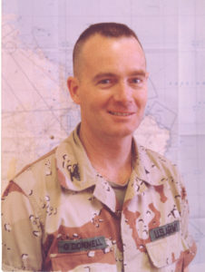 Dr. Francis O'Donnell, when he was deployed during the Gulf War.