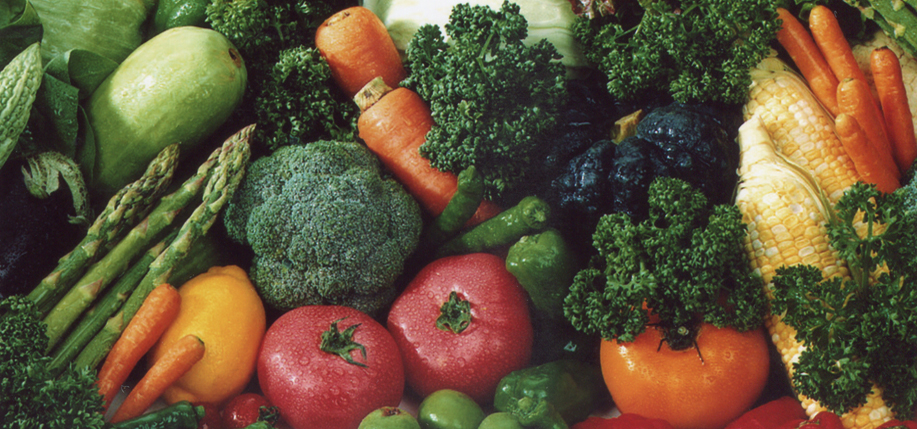 Unprocessed vegetables are naturally gluten-free.